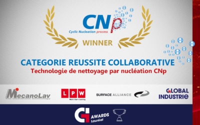 MecanoLav wins global industrie award for new cleaning process cnp