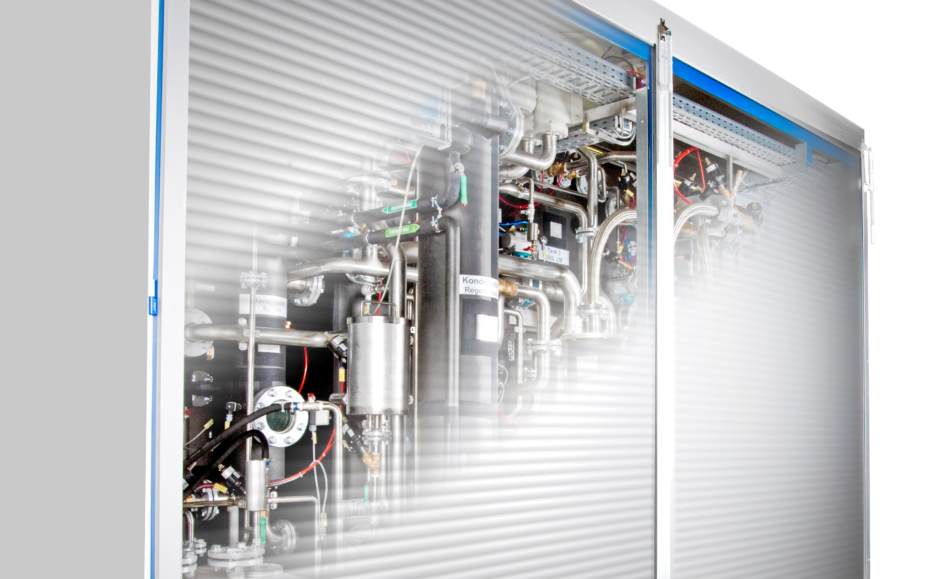 Maintenance for degreasing machine Hösel Solvacs 3