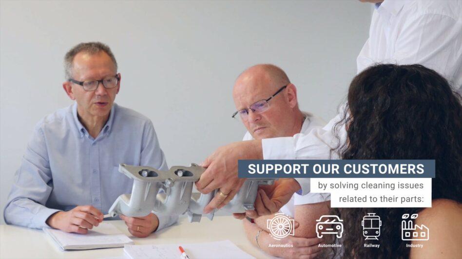 Mecanolav parts washers manufacturer's approach