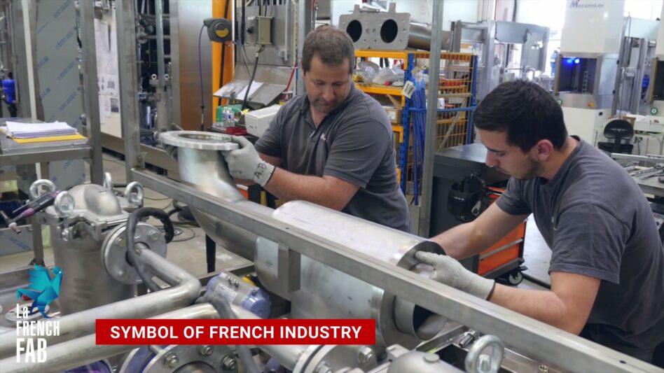 Mecanolav parts washers symbol of French industry